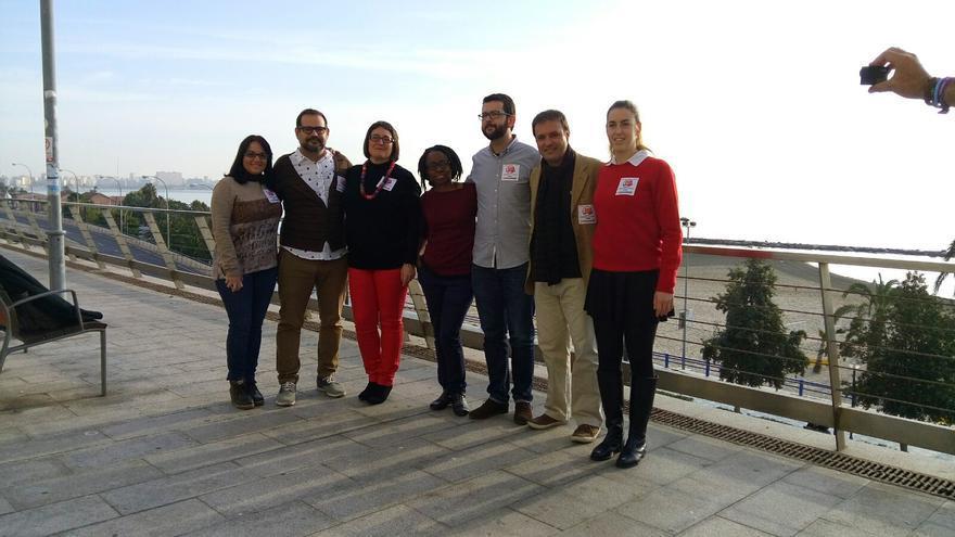 La candidatura de Compromís-Podem en Alicante