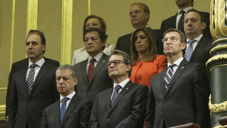 Susana Díaz, Núñez Feijóo y otros cinco presidentes confirman su presencia en el Congreso el Día de la Constitución