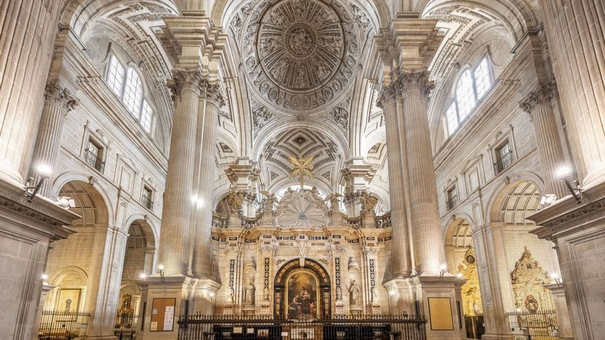 Interior de la Catedral de Jaén.