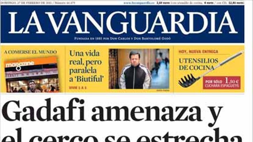 De las portadas del día (27/02/2011) #6