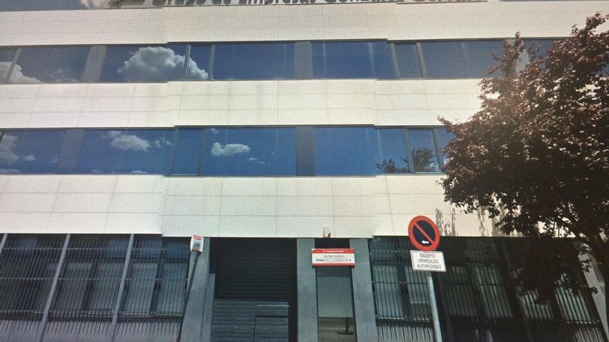 Juzgados de Getafe en el edificio del constructor Felipe González Gervaso.