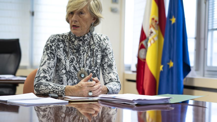 La consejera de Educación, Formación Profesional y Turismo, Marina Lombó. | JOAQUÍN GÓMEZ SASTRE