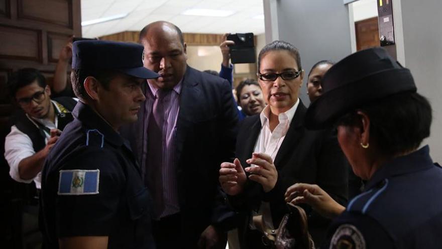 La Fiscalía imputa a exvicepresidenta de Guatemala por el saqueo al Estado