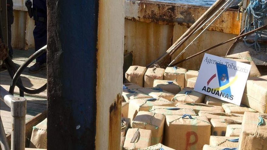 Intervenidos 1.900 kilos de hachís y tres detenidos en Málaga