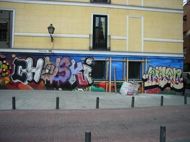 Primeras vandalizaciones - año indeterminado