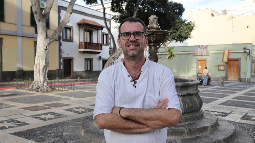 Josemi Martín, portavoz del colectivo Reúna