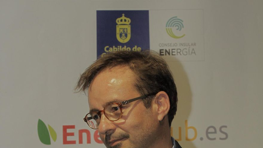 El consejero ínsular del área de Desarrollo Económico, Energía e I+D+i del Cabildo de Gran Canaria, Raúl García Brink.