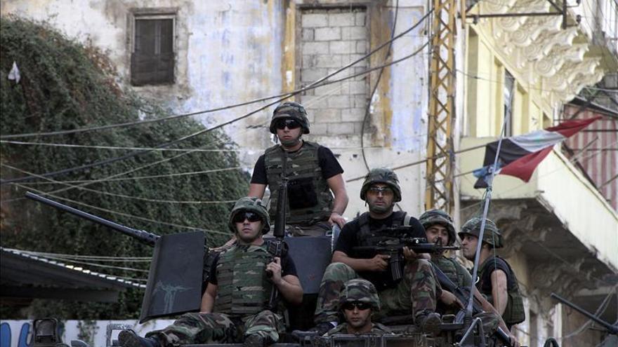 Al menos 3 soldados libaneses muertos en un ataque cerca de la frontera con Siria