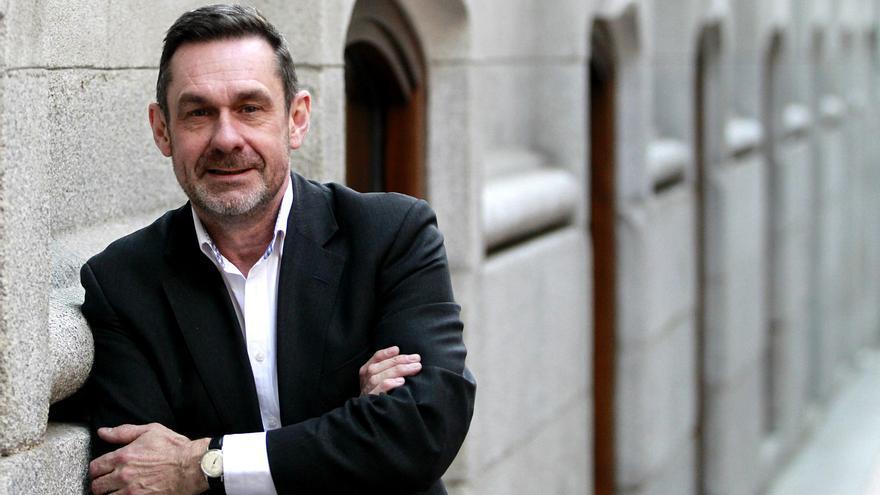 El periodista británico Paul Mason, fotografiado en Madrid. Foto: Marta Jara