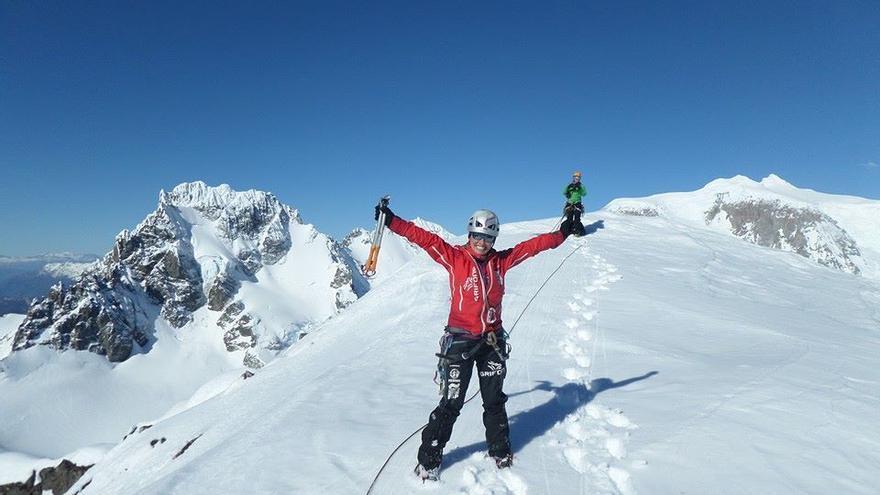 Equipo Femenino de Alpinismo.