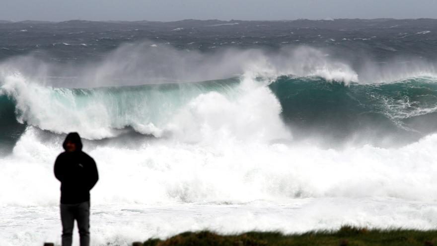 En alerta roja las costas de Asturias, Cantabria, Galicia y País Vasco