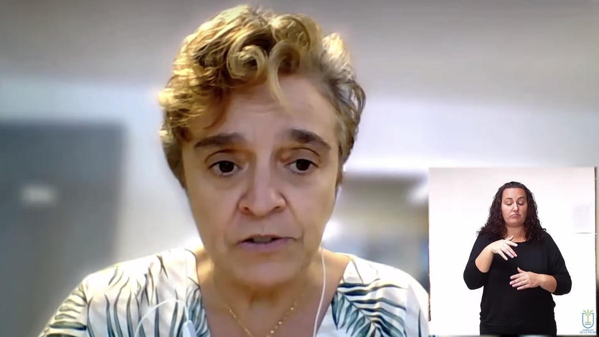 María José Blanco.