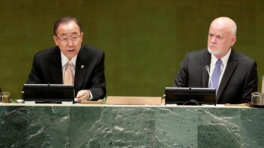 Ban Ki-moon dice que el futuro de Siria no puede depender de Al Asad