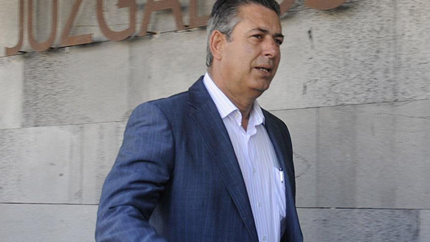 José Francisco Reyes, exalcalde de Yaiza.