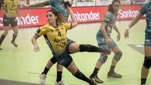 Melania Falcón, jugadora del Rocasa Gran Canaria.