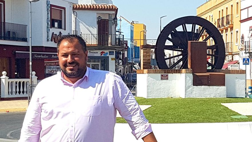 Jorge Barrera, alcalde de Brenes,localidad de la provincia de Sevilla