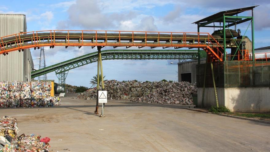 La planta de tratamiento de residuos de Elche