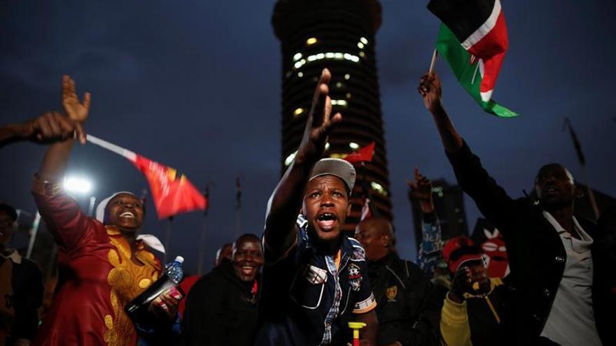 Justicia keniana anula resultado electoral y ordena convocar nuevos comicios