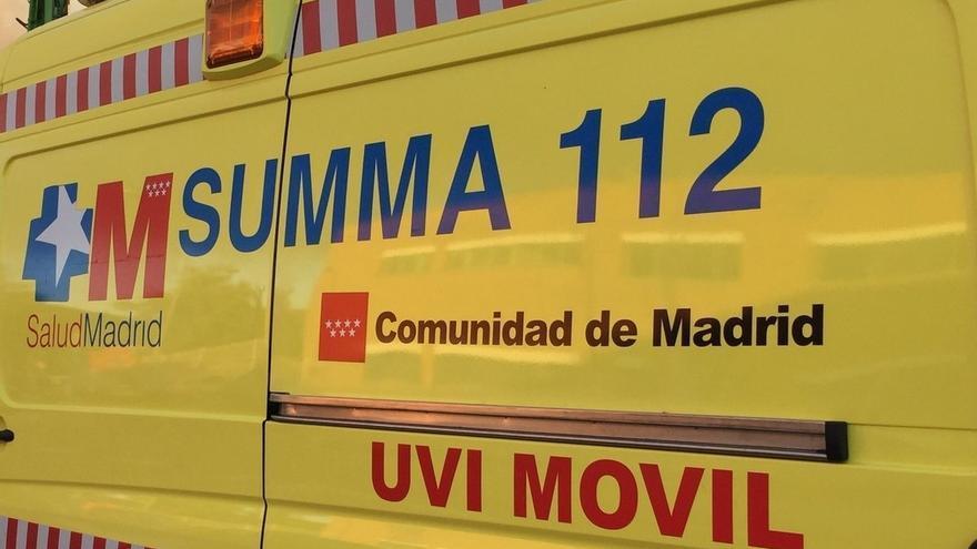 Muere en Madrid un trabajador de 36 años tras precipitarse desde una altura de 8 metros