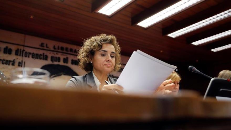 La ministra de Igualdad, Dolors Montserrat, en una imagen de archivo.