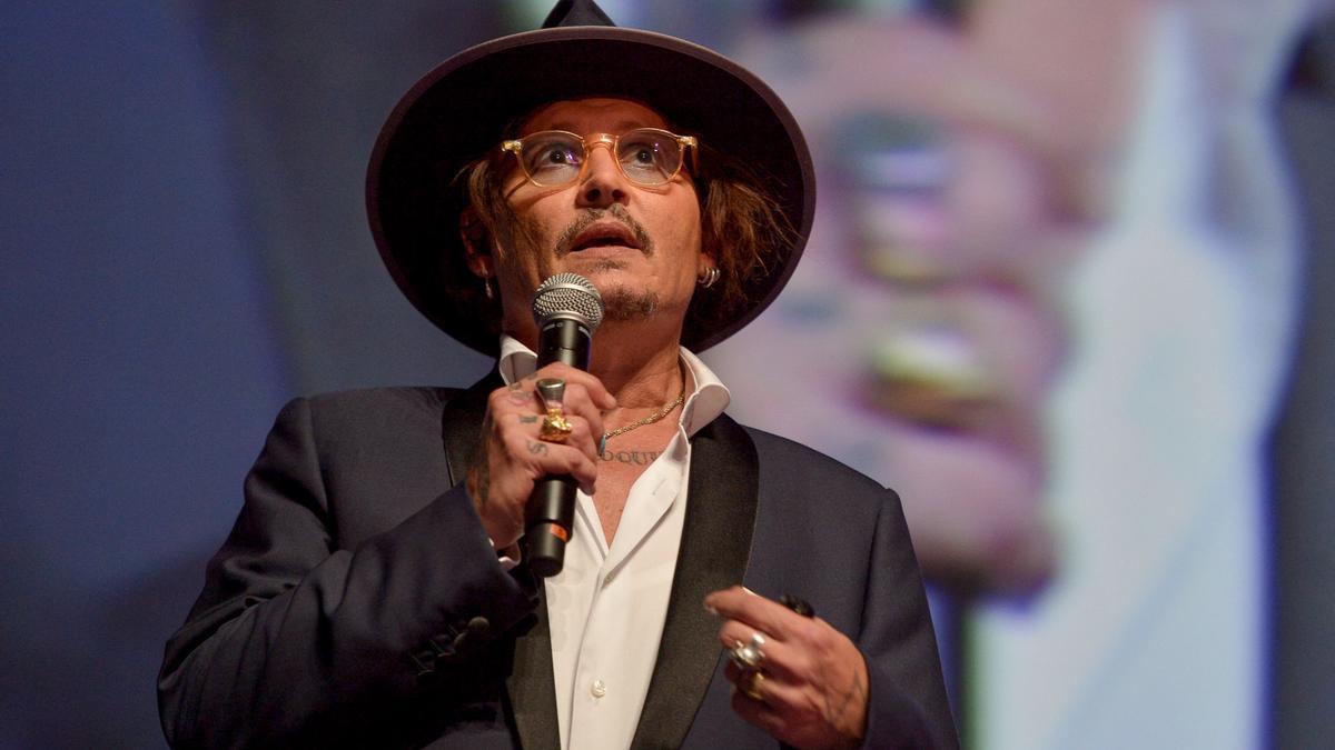 Johnny Depp en el Deauville American Film Festival