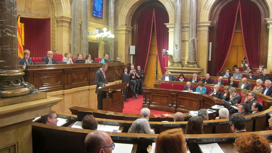 """Albiol (PP) a Mas en el Parlament: """"Ni usted ni nadie nos va a sacar de España"""""""