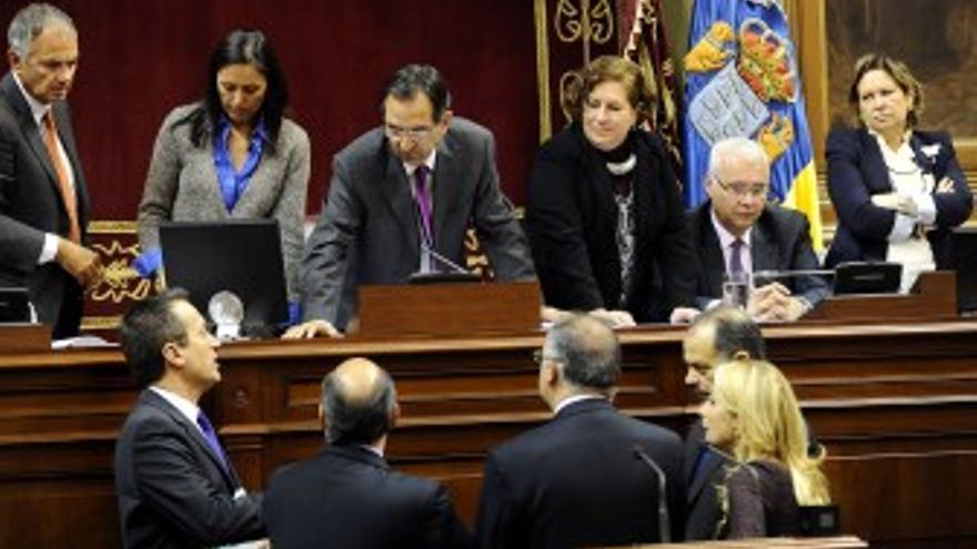 Sesión parlamentaria de este martes. (ACFI PRESS)