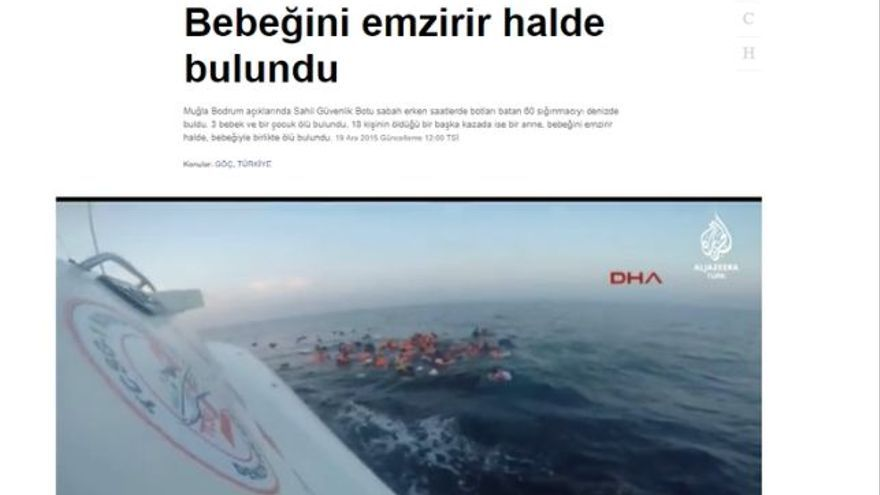 Al Jazeera cabecera del video