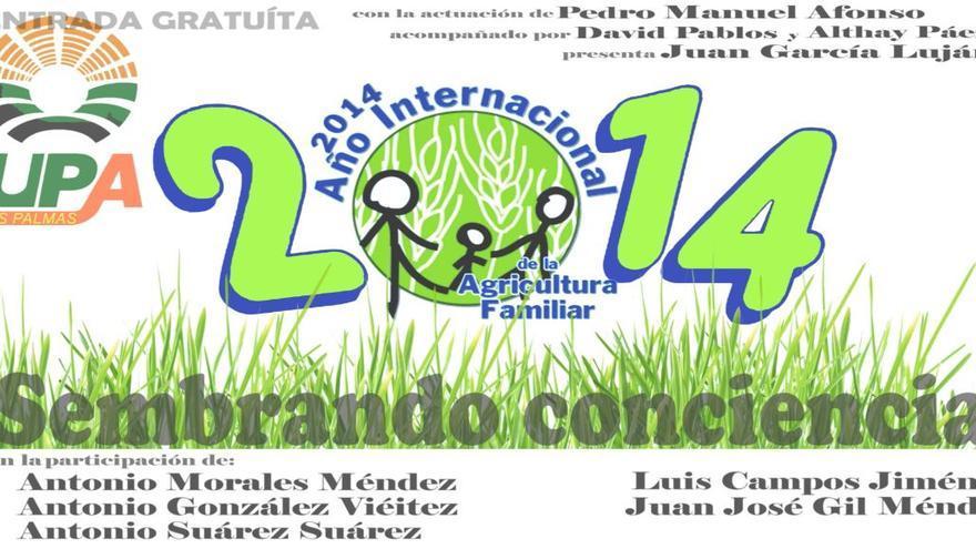 Cartel de 'Sembrando Conciencia'.