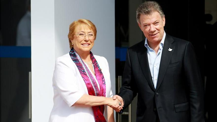 Bachelet apuesta por seguir abriendo mercados para la Alianza del Pacífico