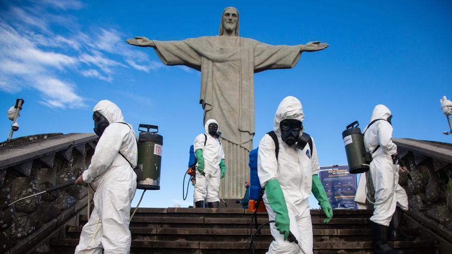 En Río de Janeiro suspendieron la clásica fiesta del Carnaval por el Covid-19.