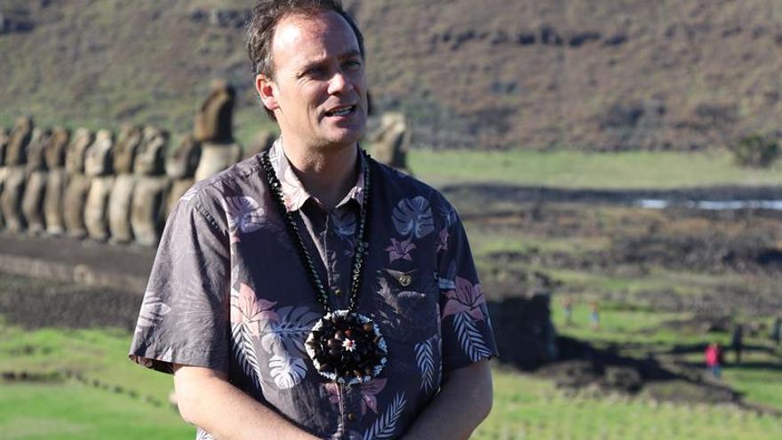 "Chile espera el retorno a la Isla de Pascua del moai ""perdido"" en Reino Unido"