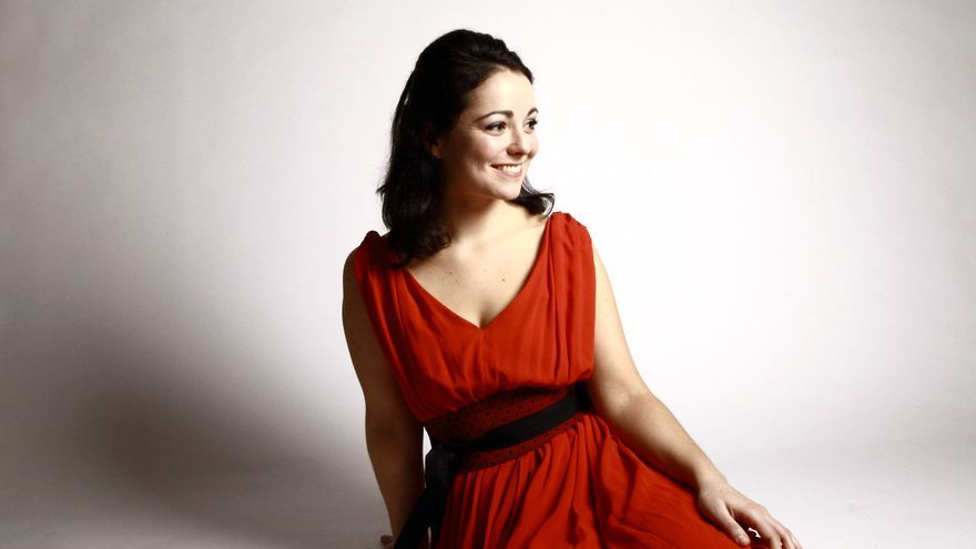 La pianista tinerfeñá Ainoa Padrón .