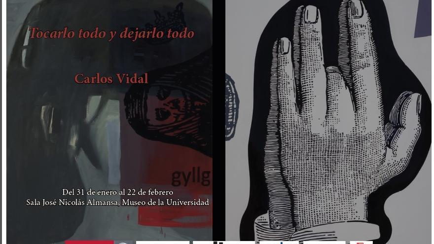 El museo de la Universidad de Murcia acoge una exposición de Carlos Vidal