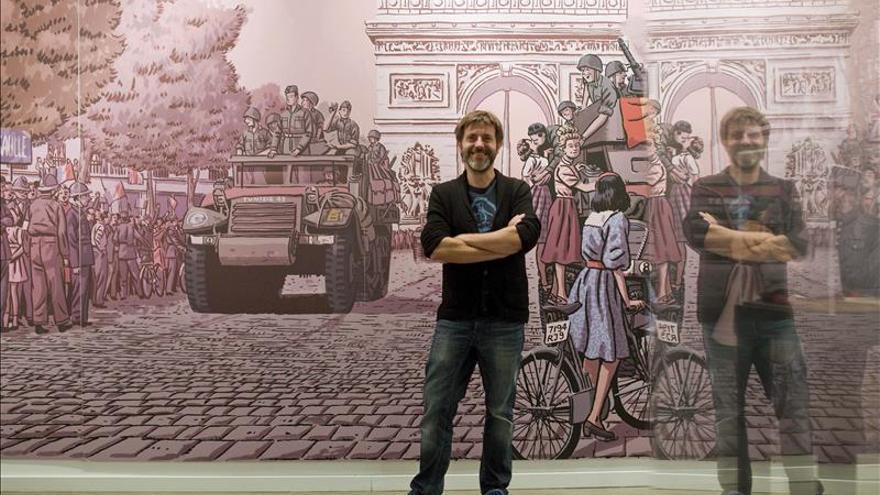 """Paco Roca sostiene que con Tintín descubrió """"la magia de los cómics"""""""