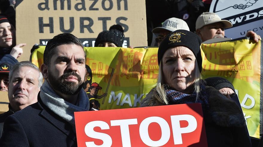 Las protestas contra el acuerdo con Amazon han logrado la retirada del proyecto.