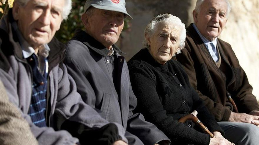 El gasto mensual en pensiones crece el 2,8 por ciento en agosto y suma 8.270 millones