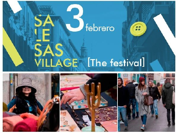 Cartel Salesas Village [The Festival] enero 2018