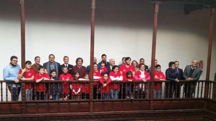 Imagen del acto celebrado este miércoles en la Casa Salazar.