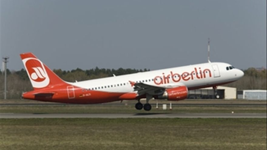Avión de Air Berlin