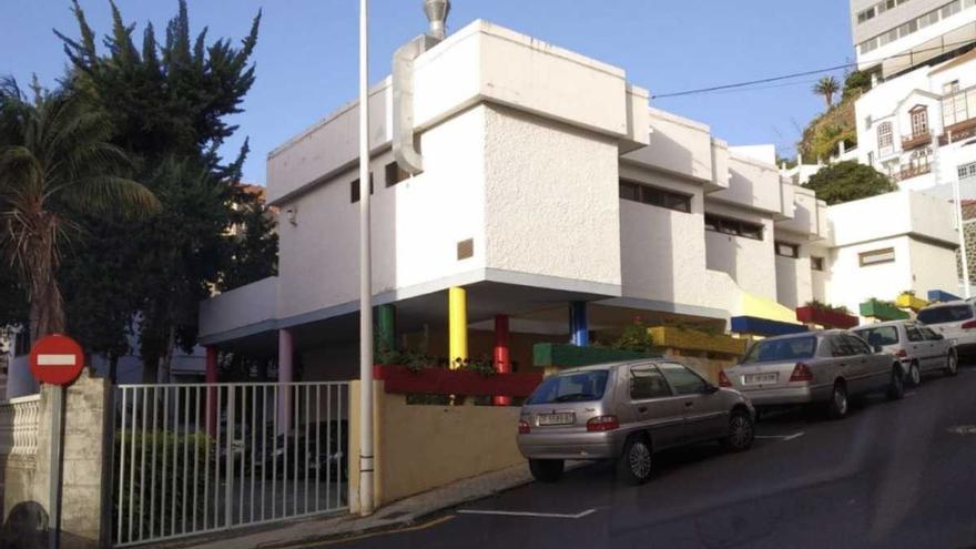 la escuela infantil San Miguel Arcángel en la isla de La Palma.