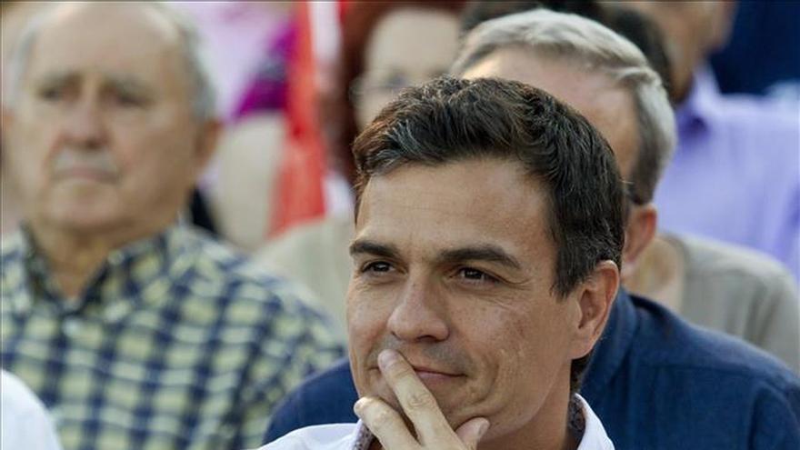 """Pedro Sánchez: """"Si hicimos el gran cambio en 1982, lo volveremos a hacer en 2015"""""""