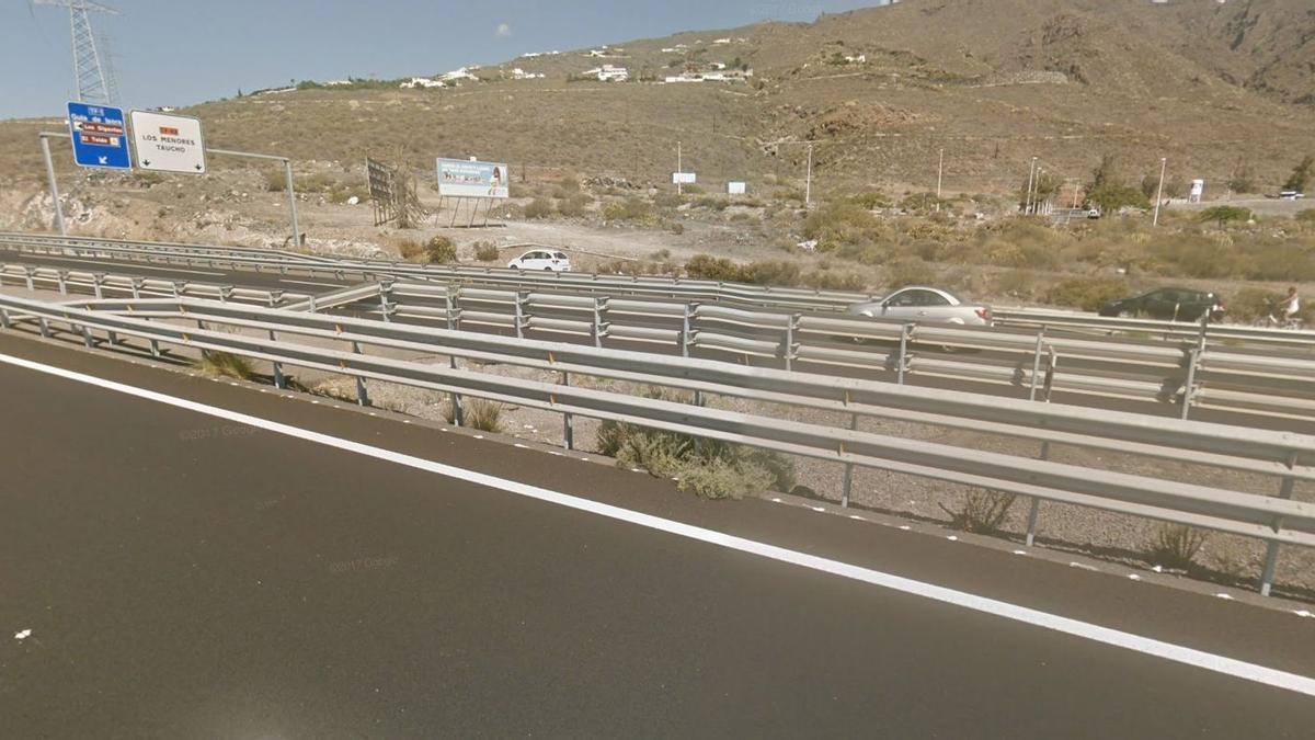Autopista del sur de Tenerife. (Google Maps)