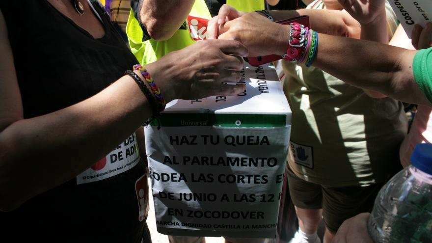 Quejas a entregar en las Cortes regionales