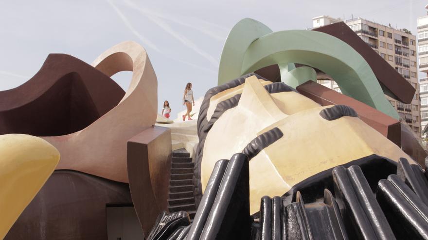 El parque Gulliver de València
