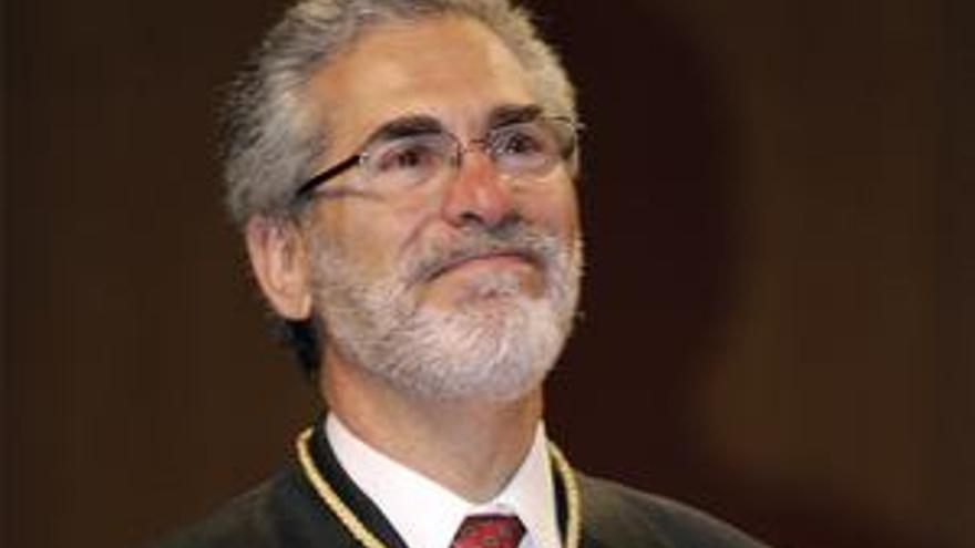 José Regidor, rector de la Universidad de Las Palmas de Gran Canaria.