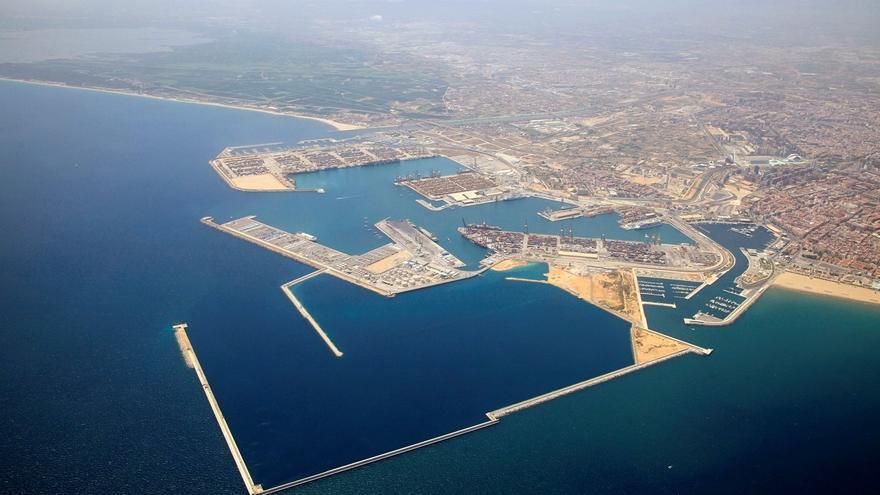 Imagen panorámica del Puerto de València.