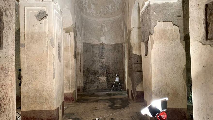 """Roma redescubre bajo las vías del tren su basílica más """"mágica"""" y desconocida"""