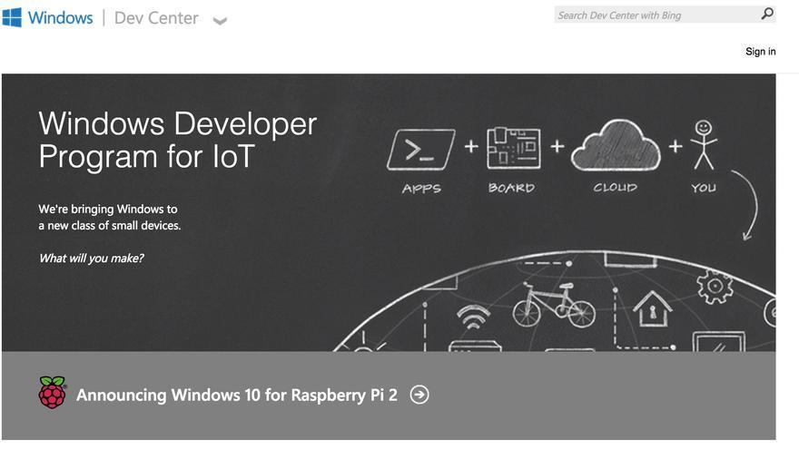 Raspberry Pi 2 - Windows IoT