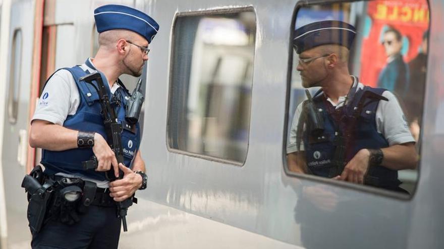 Seis detenidos en Bruselas por intento de atentado en el Thalys el año pasado